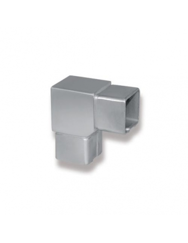 Coude 90° - support carré 40 x 40 mm